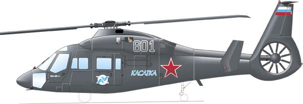 Вертолет Ка-60 «Касатка»
