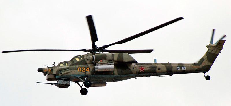 """боевой вертолет Ми-28 не очень """"фотогеничная"""" машина"""