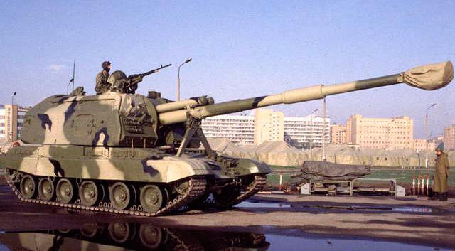 """Самоходная артиллерийская установка """"Мста-С"""", 152-мм"""