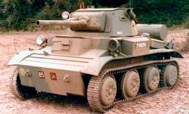 Легкий танк Mark VII Tetrarch (Тетрарх)