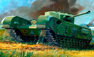 Английский пехотный танк Mark IV Черчиль