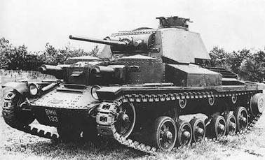 легкий Крейсерский танк Mark I (A9)