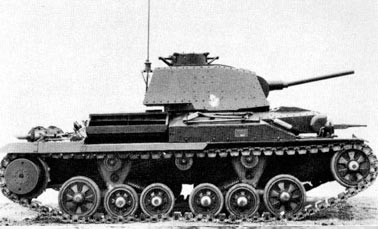легкий Крейсерский танк Mark II (A10)