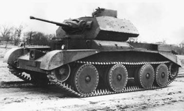 английский Крейсерский танк Mark III (A13)