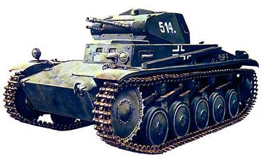 Немецкий легкий танк Pz. II