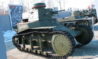 легкий советский танк Т-20