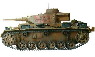 Немецкий танк PzKpfw III