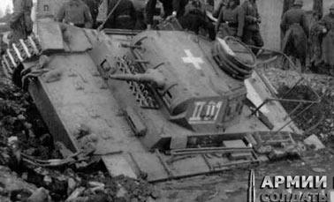 Командирский танк на базе PzKpfw III
