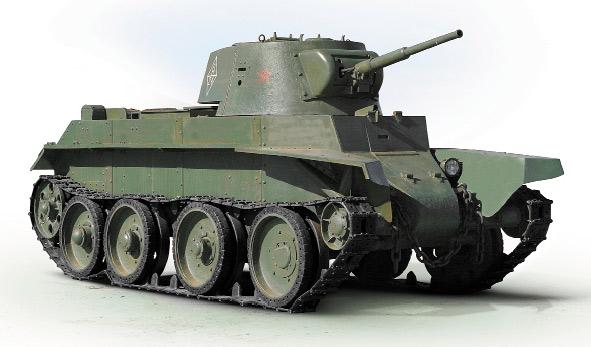 быстроходный танк БТ-7