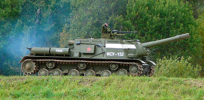 Восстановленная ИСУ-152