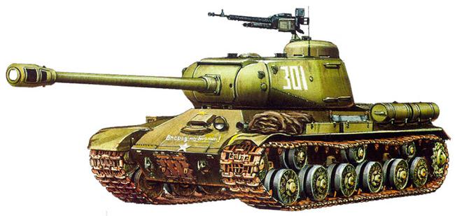 Тяжелый танк ИС-2 (СССР)