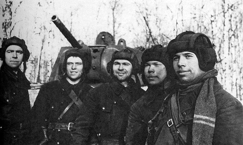 Экипаж тяжелого танка КВ-1