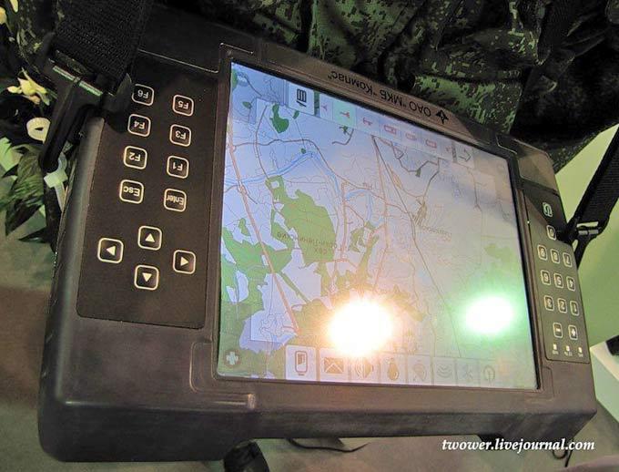 """Система навигации и управления тактического звена """"Компас""""."""