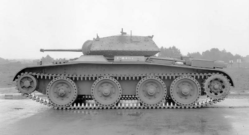 Крейсерский танк Mark V (А13 Мк III) Covenanter