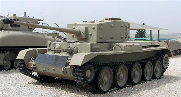 Танк Mark-VIII (A27M) Кромвель