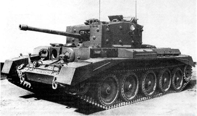 Крейсерский танк Mark VIII (A27M) Cromwell