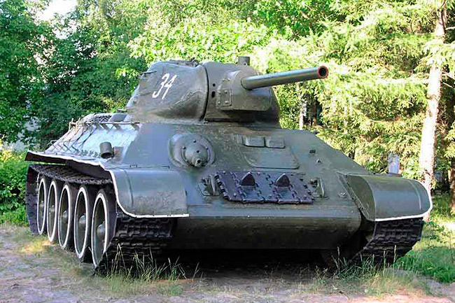 фото танк т-34.
