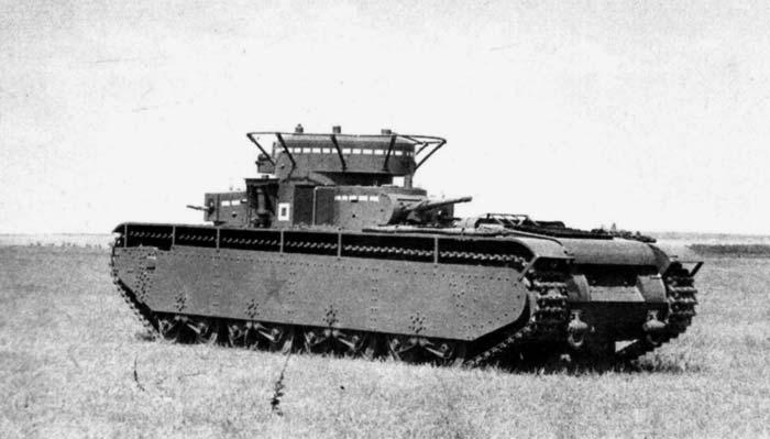 Сухопутный линкор Т-35