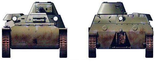 Малый танк Т-40.