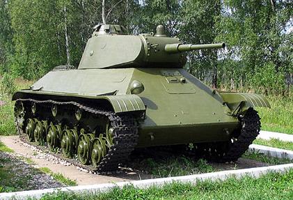 Легкий танк Т-50 (СССР)