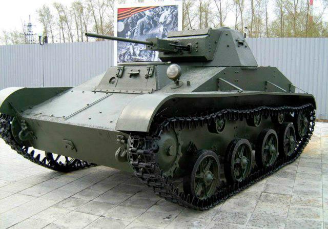 Легкий танк Т-60 (СССР)