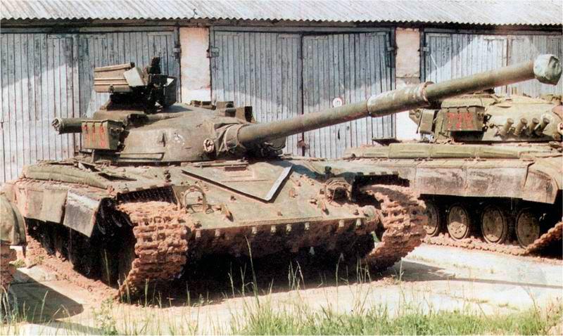 Танк Т-64А выпуска 1973 года