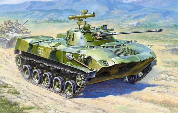 Боевая машина десанта — 2 (БМД-2)