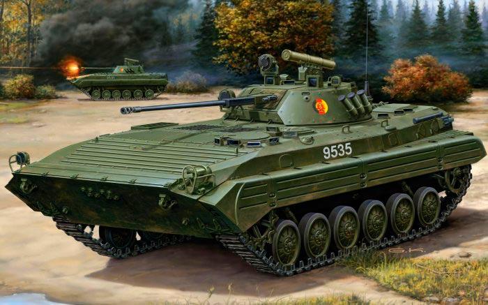 Боевая машина пехоты — 2 (БМП-2)
