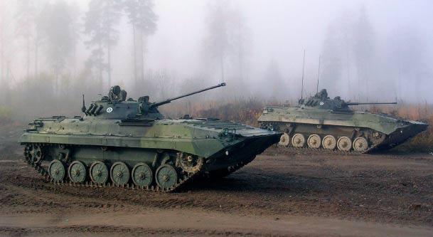 боевая машина пехоты - 2 (бмп-2)