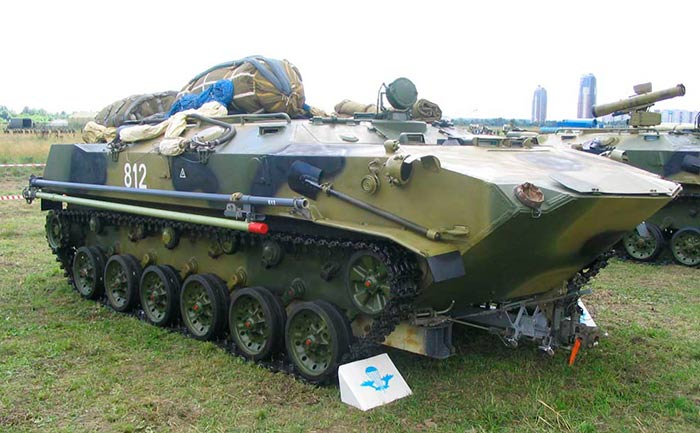 десантный бронетранспортер БТР-Д