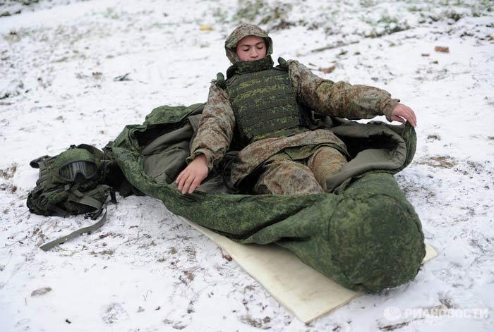 """Спальный мешок для комплекса """"Ратник"""""""