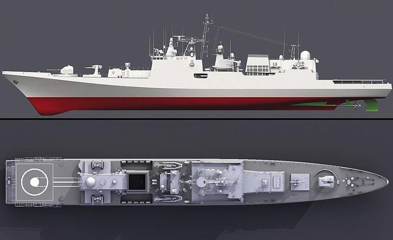 Фрегат (сторожевой корабль) проекта 11356