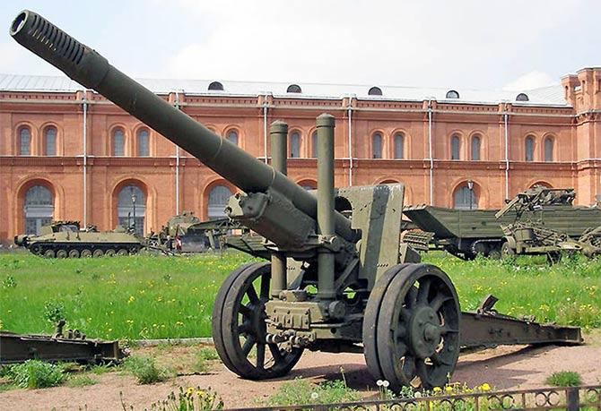 152-мм пушка образца 1910/1934 г.г.