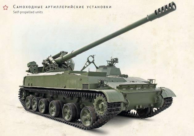 152-мм самоходная пушка 2С5 «Гиацинт»