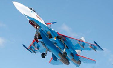 Фронтовой истребитель Су-27