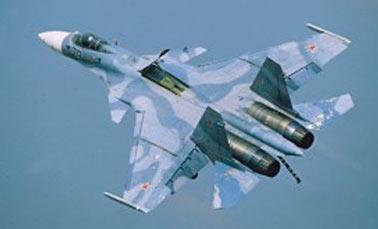 Истребитель корабельного базирования Су-33