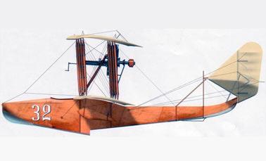 Гидросамолета (летающая лодка) М-5