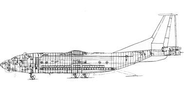 Военно-транспортный самолет Ан-40