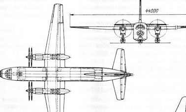 Транспортно-десантный самолет «Ю» КБ Антонова