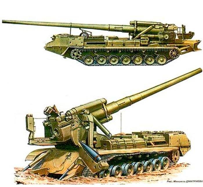 203-мм-самоходная-пушка-2С7М-«Малка»-(2С7-«Пион»)-3