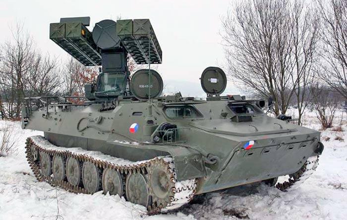 Боевая машина 9А35 ЗРК «Стрела»-10