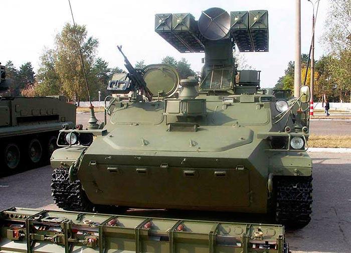 """Боевая машина 9А35 ЗРК """"Стрела""""-10"""