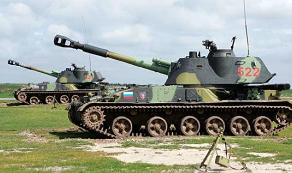 """152-мм самоходная гаубица 2С3 """"Акация"""""""