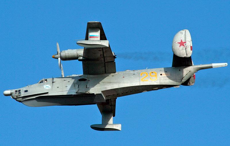 """Противолодочный самолёт Бе-12 """"Чайка"""""""