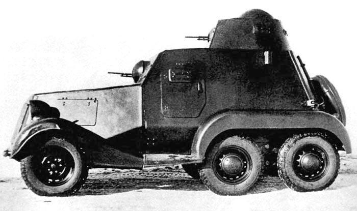 Бронеавтомобиль ЛБ-23