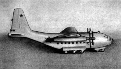 Транспортно-десантный самолет ДТ-5/8 (макет)
