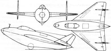 истребитель Антонова «М» (Э-153) после доработки