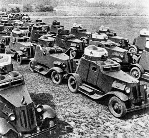 Бронеавтомобили ФАИ