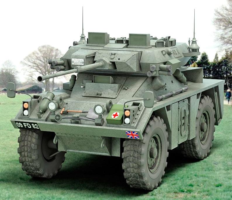 Бронеавтомобиль FV721 «Фокс» (Великобритания)