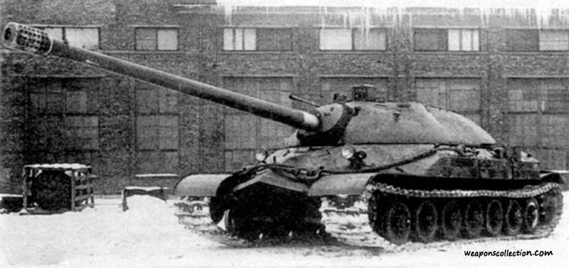 """Тяжелый танк ИС-7 (""""Объект 260"""")"""